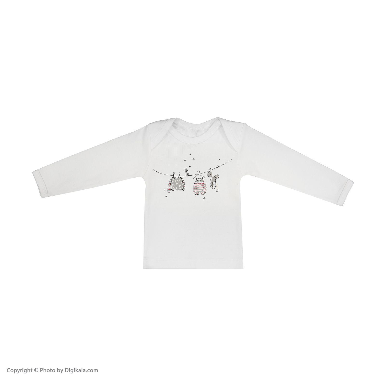 تی شرت نوزادی سون پون مدل 1391213-01 main 1 1