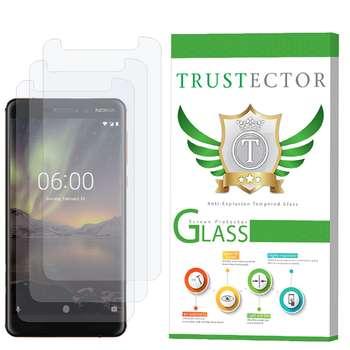 محافظ صفحه نمایش تراستکتور مدل GLS مناسب برای گوشی موبایل نوکیا  2018 6.1 بسته 3 عددی