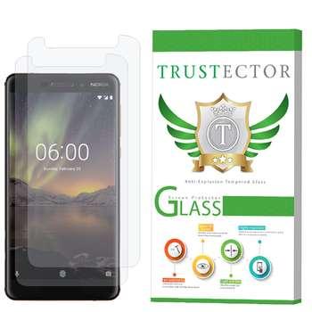 محافظ صفحه نمایش تراستکتور مدل GLS مناسب برای گوشی موبایل نوکیا 6.1 2018 بسته 2 عددی