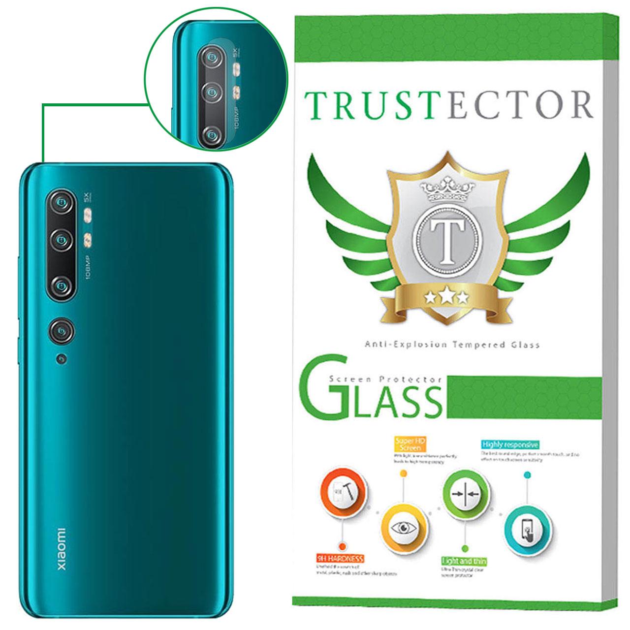 محافظ لنز دوربین تراستکتور مدل CLP مناسب برای گوشی موبایل شیائومی Mi Note 10 Pro