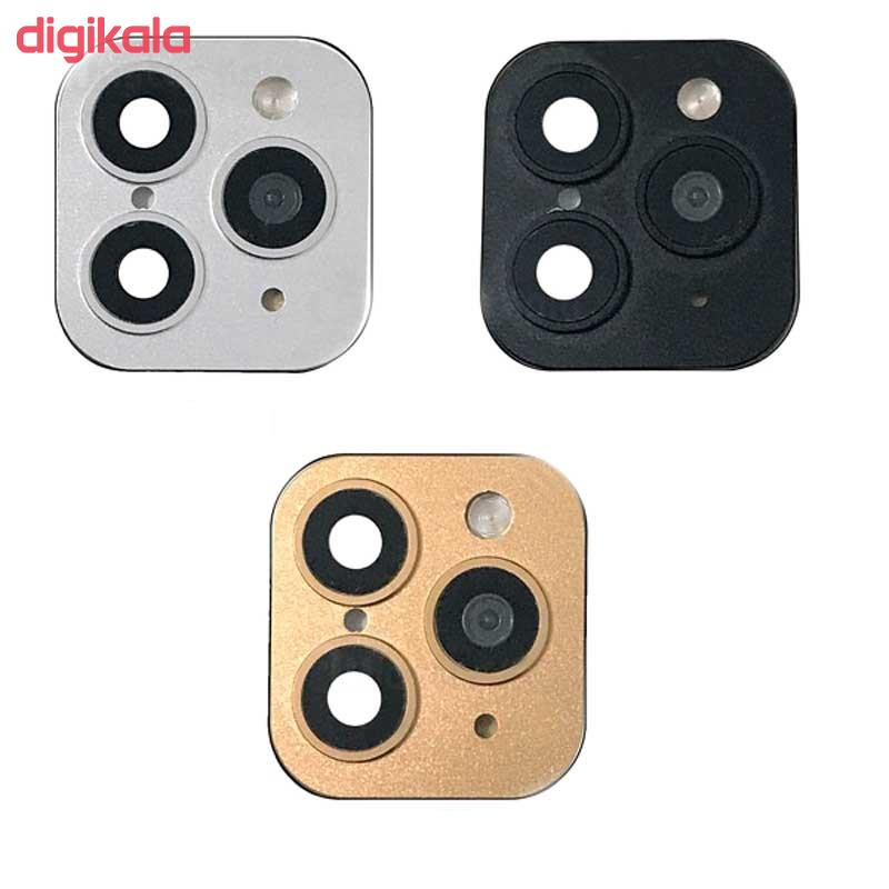 محافظ لنز تزئینی دوربین مدل M07C مناسب برای گوشی موبایل اپل Iphone X/XS main 1 2