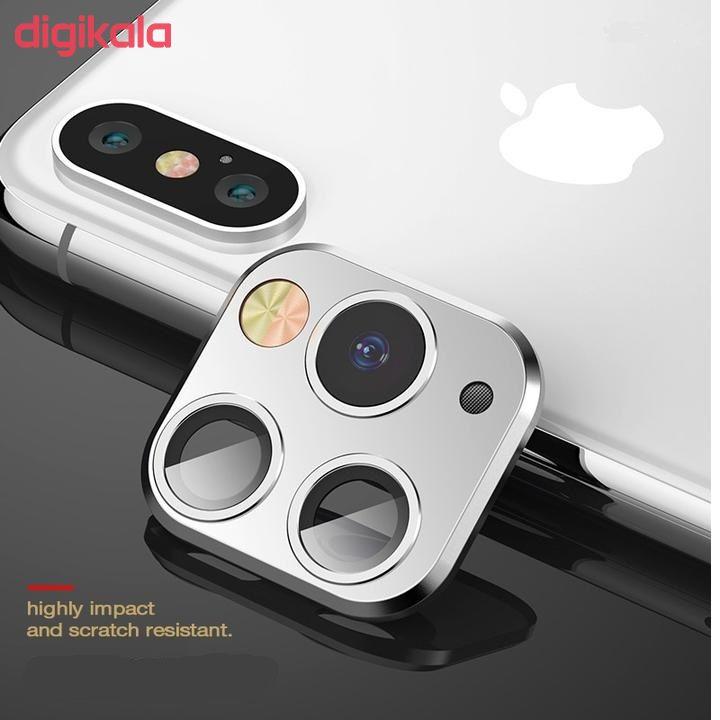 محافظ لنز تزئینی دوربین مدل M07C مناسب برای گوشی موبایل اپل Iphone X/XS main 1 1
