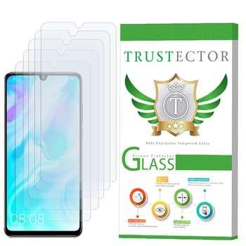 محافظ صفحه نمایش تراستکتور مدل GLS مناسب برای گوشی موبایل هوآوی P30 lite بسته 5 عددی