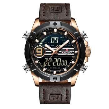 ساعت مچی عقربه ای مردانه نیوی فورس مدل NF9146M -RG-RG-D.BN