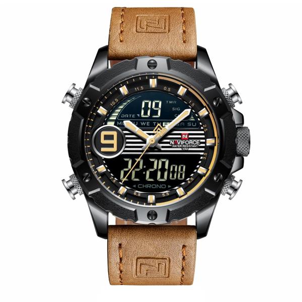 ساعت خرید اینترنتی ساعتمردانه نیوی فورس مدل NF9146M -B-Y-L.BN
