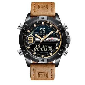 ساعت مچی عقربهای مردانه نیوی فورس مدل NF9146M -B-Y-L.BN