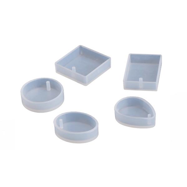 قالب رزین مدل پلاک مجموعه 5 عددی