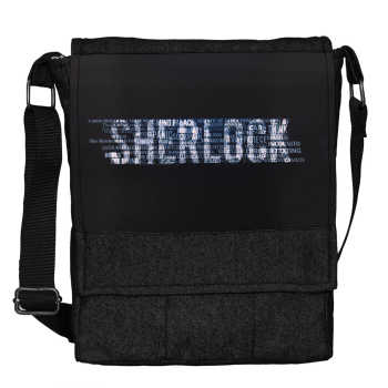 کیف دوشی گالری چی چاپ طرح Sherlock کد 65724