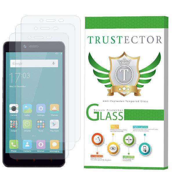 محافظ صفحه نمایش تراستکتور مدل GLS مناسب برای گوشی موبایل شیائومی Redmi Note 2 / Redmi Note 2 Prime بسته 3 عددی