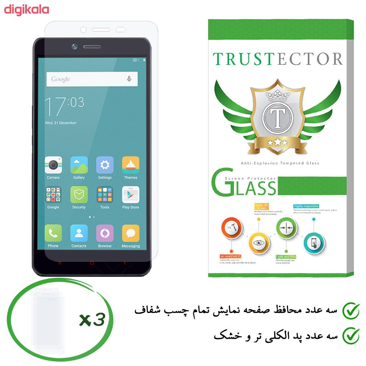 محافظ صفحه نمایش تراستکتور مدل GLS مناسب برای گوشی موبایل شیائومی Redmi Note 2 / Redmi Note 2 Prime بسته 3 عددی main 1 1