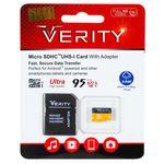 کارت حافظه microSDHC وریتی کلاس 10 استاندارد UHS-I U1 سرعت 95MBps ظرفیت 32 گیگابایت به همراه آداپتور SD thumb