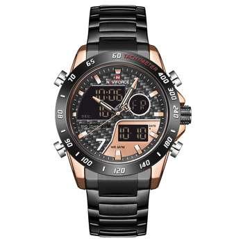 ساعت مچی عقربه ای مردانه نیوی فورس مدل NF9171M -RG-RG-B