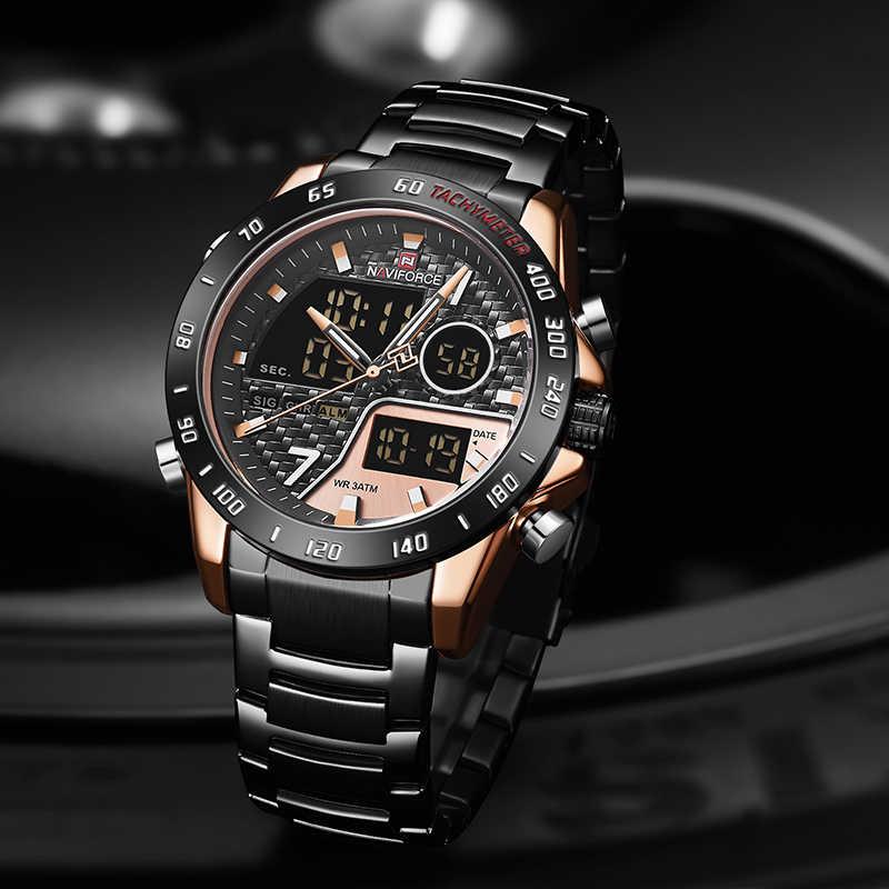کد تخفیف                                      ساعت مچی عقربه ای مردانه نیوی فورس مدل NF9171M -RG-RG-B