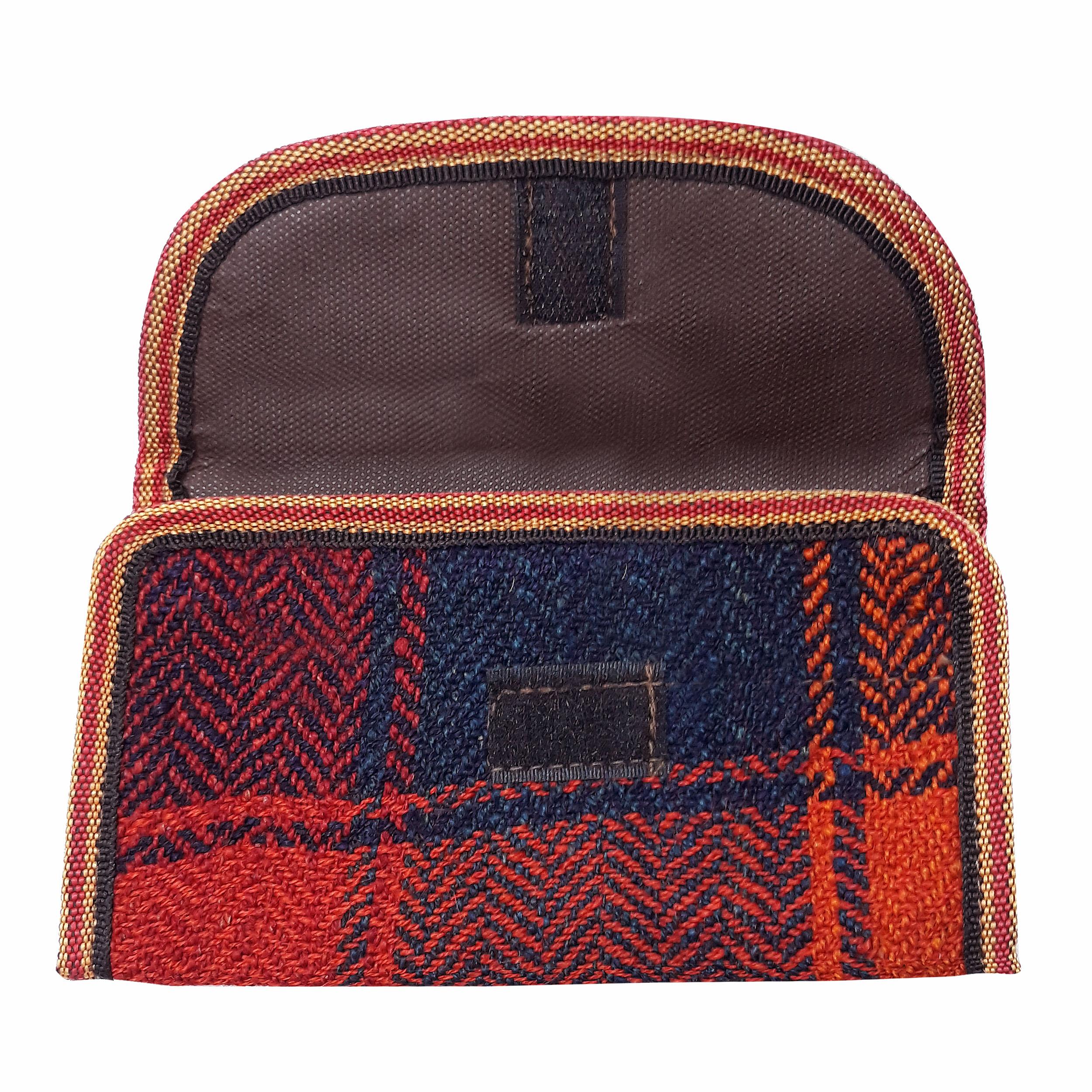 خرید                      کیف پول جاجیم مدل 001