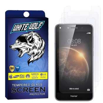 محافظ صفحه نمایش وایت ولف مدل WGS مناسب برای گوشی موبایل آنر 5A بسته 3 عددی