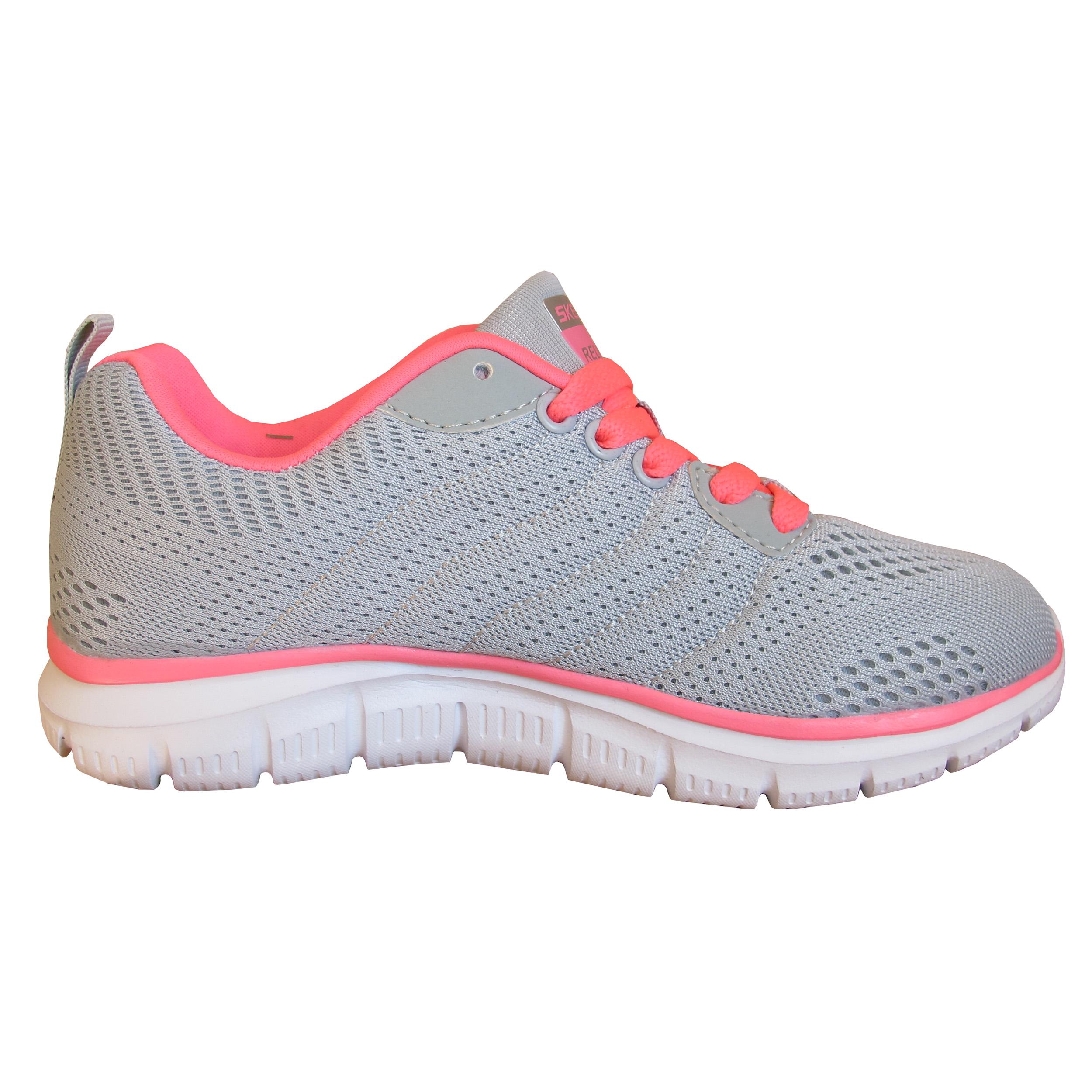 کفش مخصوص پیاده روی زنانه اسکچرز مدل DUAL -LITE کد SK-DL-01