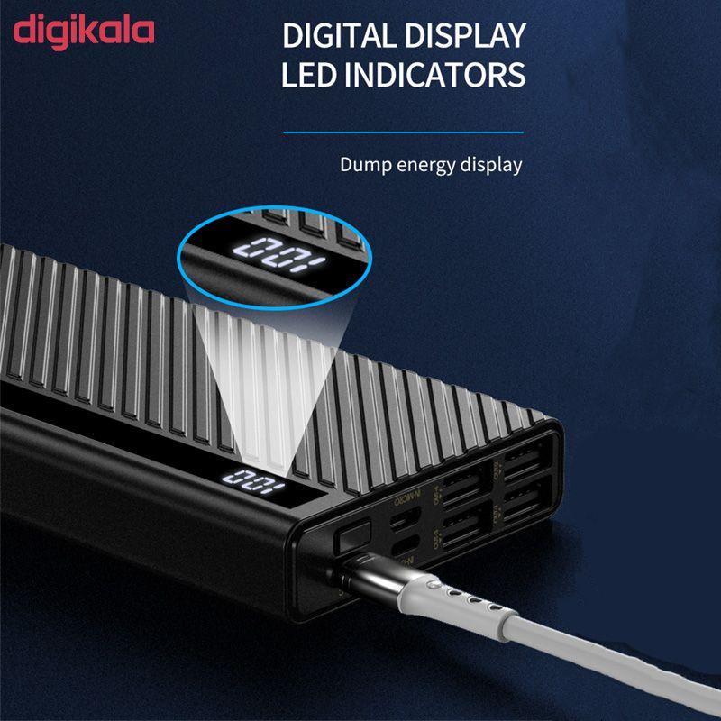 شارژر همراه پرودا مدل PD-P26 ظرفیت 20000 میلی آمپر ساعت main 1 3