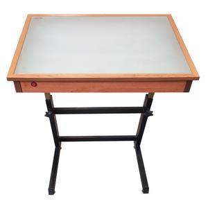 میز نور مهرگان مدل LT 01 سایز 70×50 سانتی متر