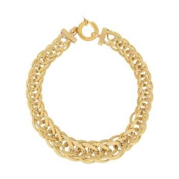 دستبند طلا 18 عیار زنانه آلند کد D26