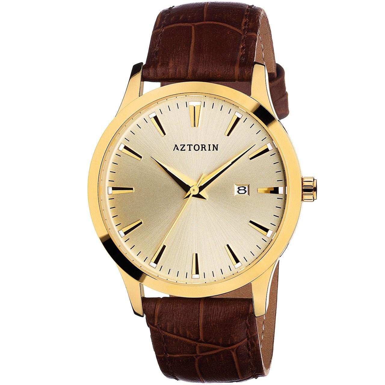 ساعت مچی عقربه ای مردانه ازتورین مدل A033.G118