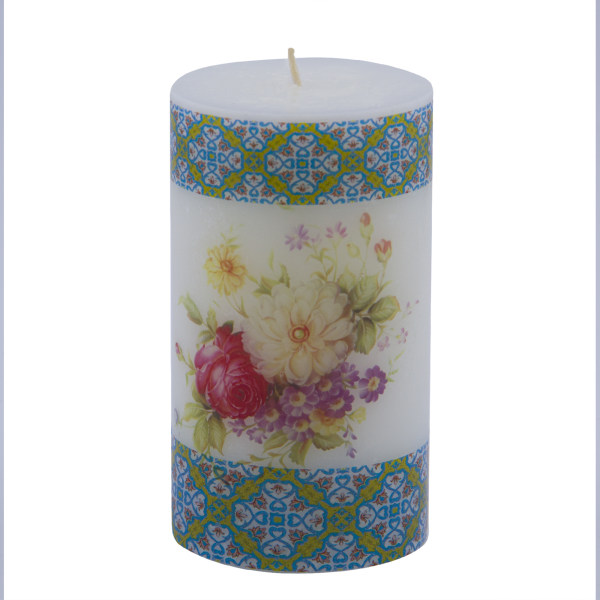 شمع هونیا مدل گل ۳