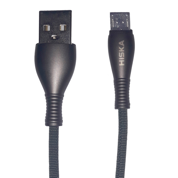 کابل تبدیل USB به microUSB هیسکا مدل LX-CA94 طول 1 متر