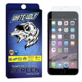 محافظ صفحه نمایش وایت ولف مدل WGS مناسب برای گوشی موبایل اپل Iphone 7 Plus