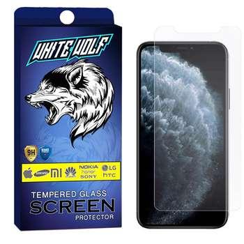 محافظ صفحه نمایش وایت ولف مدل WGS مناسب برای گوشی موبایل اپل Iphone 11