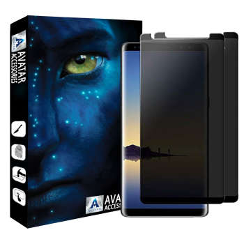 محافظ صفحه نمایش حریم شخصی آواتار مدل GPSN9_2مناسب برای گوشی موبایل سامسونگ GALAXY NOTE 9 بسته 2 عددی