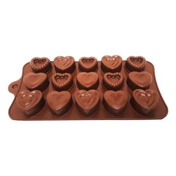 قالب شکلات طرح قلب مدل Mhr-296