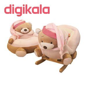 راکر کودک مدل خرس تدی TD01