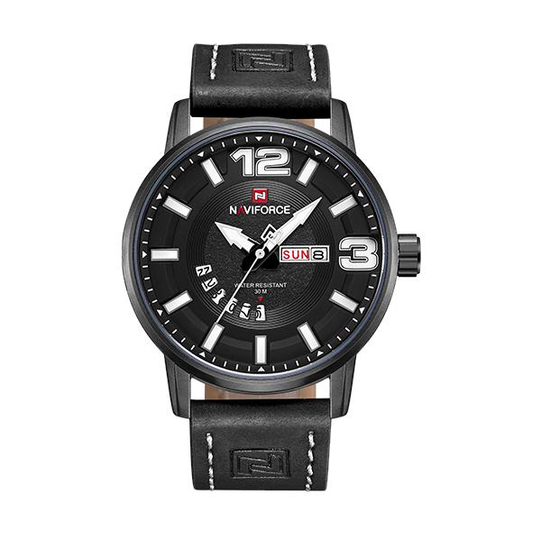 ساعت مچی عقربهای مردانه نیوی فورس مدل NF9143M -B-WB              خرید (⭐️⭐️⭐️)