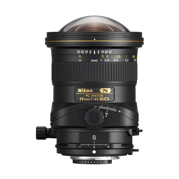 لنز نیکون مدل PC Nikkor 19mm f/4E ED مناسب برای دوربین نیکون
