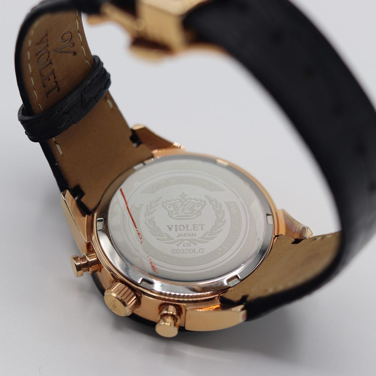 ساعت مچی عقربه ای زنانه ویولت مدل  0320L.2