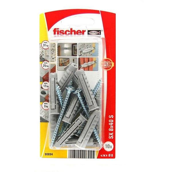مجموعه 10 عددی پیچ و رولپلاک فیشر مدل 90894