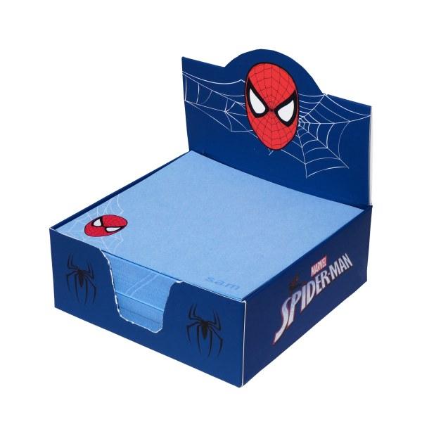 کاغذ یادداشت سم مدل مرد عنکبوتی کد 007 بسته 400 عددی