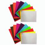 مقوا رنگي شانك كد B45 سايز 20*30 سانتي متر بسته 20 عددي thumb