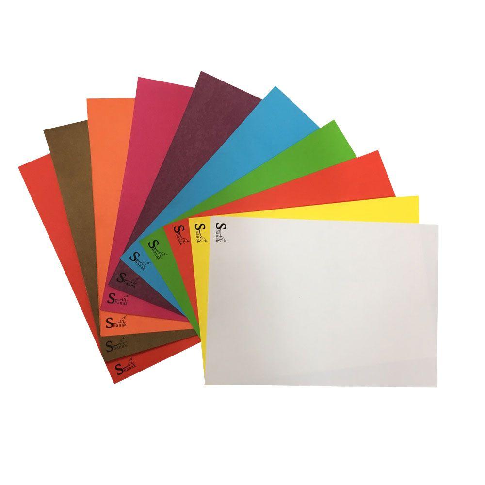 مقوا رنگي شانك كد B45 سايز 20*30 سانتي متر بسته 20 عددي main 1 9