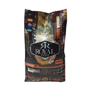 غذای خشک گربه رویال فید مدل Indoor Adult وزن 7 کیلوگرم