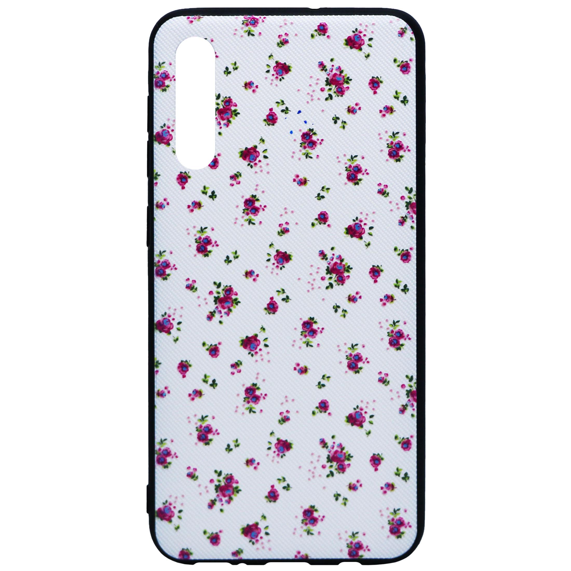 کاور طرح Pink Flowers مدل SS-01 مناسب برای گوشی موبایل سامسونگ Galaxy A50/A50s/A30s
