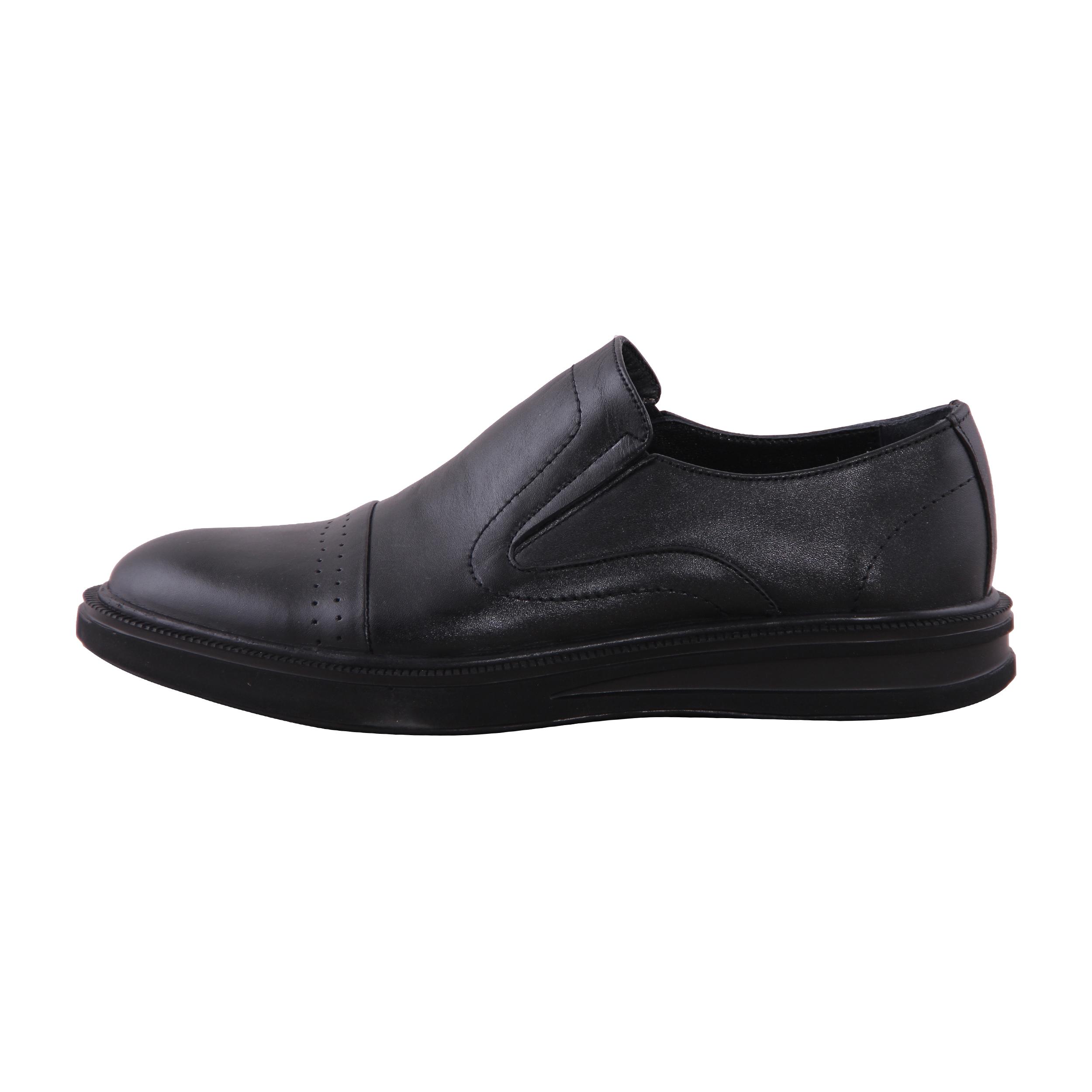 کفش روزمره مردانه شهر چرم مدل T39962-1
