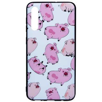 کاور طرح Pig مدل Sb-01 مناسب برای گوشی موبایل سامسونگ Galaxy A50/A50s/A30s
