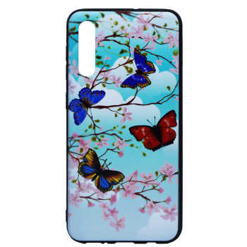 کاور طرح Blue Butterfly مدل Sb-01 مناسب برای گوشی موبایل سامسونگ Galaxy A50/A50s/A30s