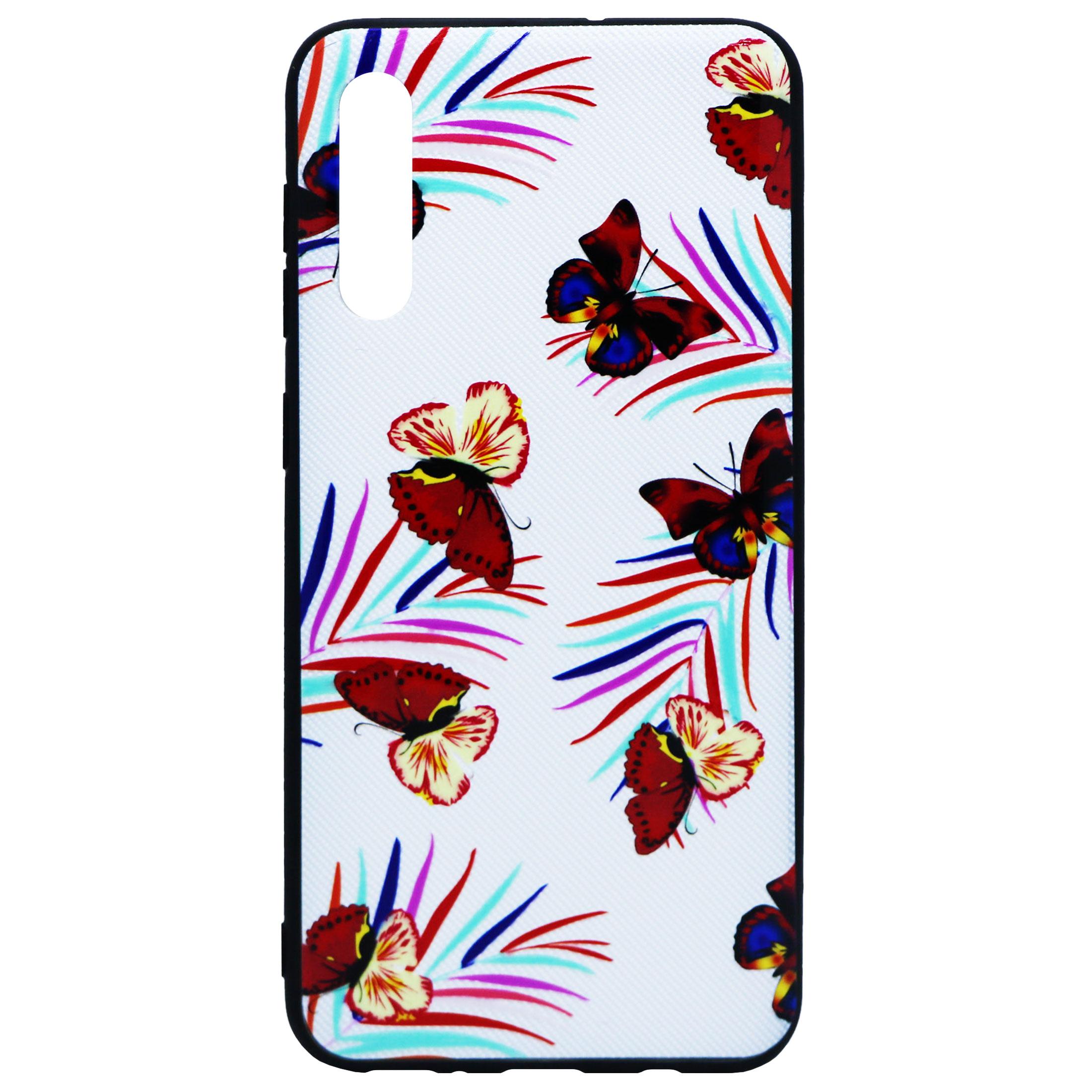 کاور طرح Red Butterfly مدل Sb-01 مناسب برای گوشی موبایل سامسونگ Galaxy A50/A50s/A30s