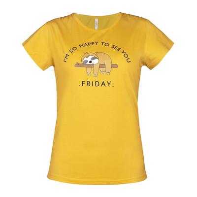 تصویر تی شرت زنانه دیون کد 614-510