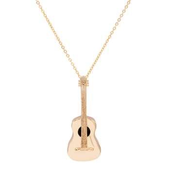 گردنبند زنانه ژوپینگ طرح گیتار کد 208132