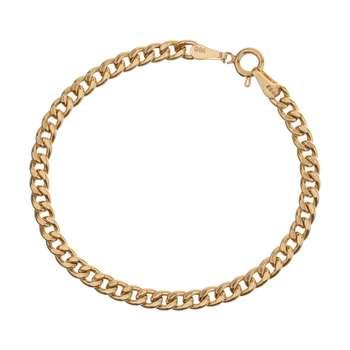 دستبند طلا 18 عیار زنانه آلند کد D34