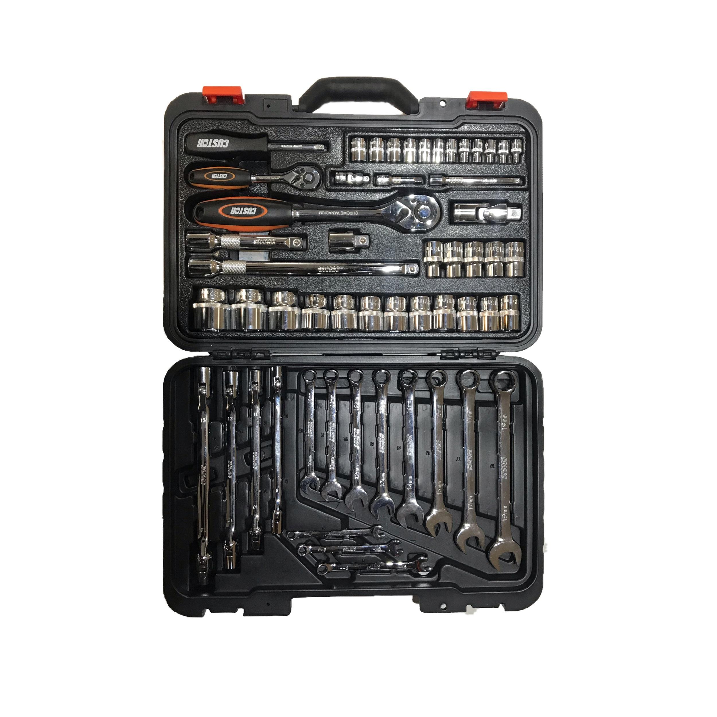 مجموعه 54 عددی ابزار کاستور مدل TK-02454K