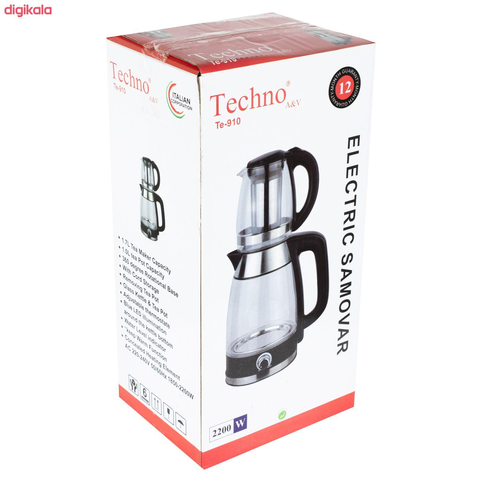 چای ساز تکنو مدل Te-910 main 1 6