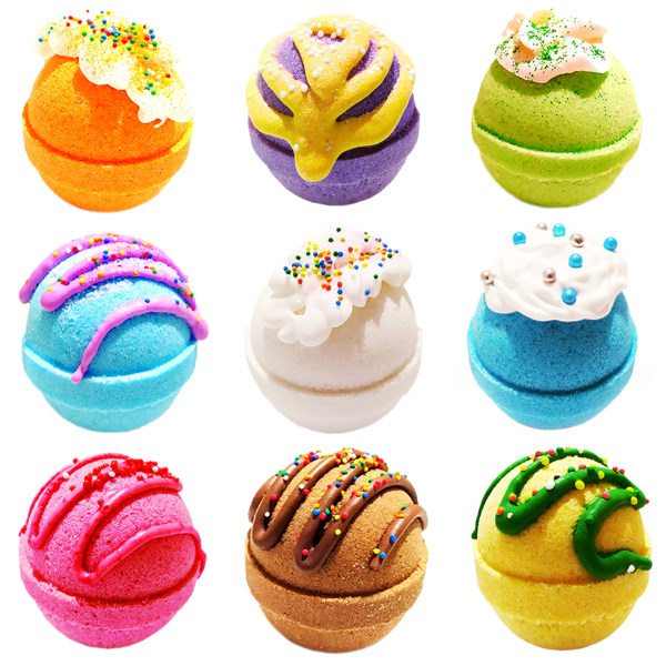 کوکتل نمک حمام اور مدل Mix Pedicure Sweets وزن ۱۱۵ گرم بسته ۹ عددی